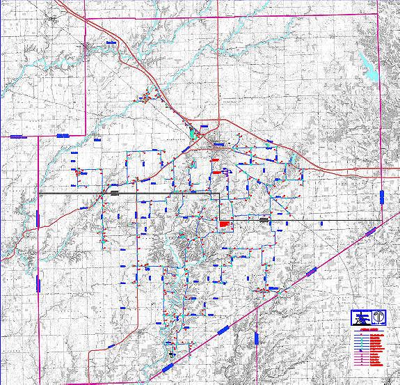 DCRW Water Map